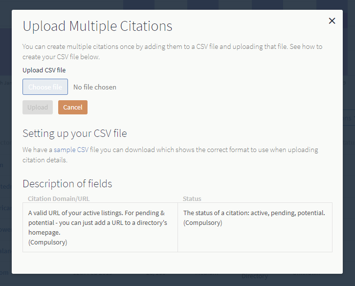 How do I add a new citation to a Citation Tracker report? – BrightLocal